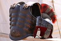 Busto dell'armatura da gladiatore