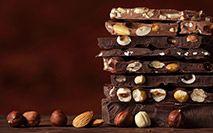Tavolette di cioccolata sovrapposte
