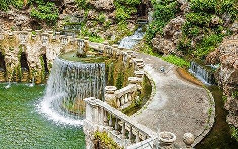Fontana dell'Ovato vista dall'alto