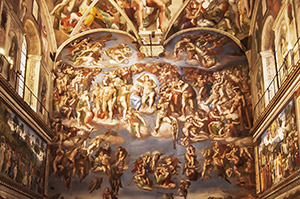 Michelangelo's Last Judgement, Sistine Chapel (Rome)