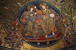 Mosaico, Santa Maria Maggiore, Roma