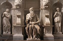 Statua del Mosè di Michelangelo