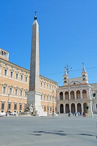 L'obelisco più alto del mondo. Piazza San Giovanni in Laterano, Roma