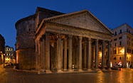 Pantheon at night (Rome)