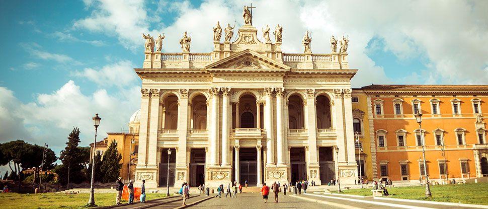 Ingresso della Basilica