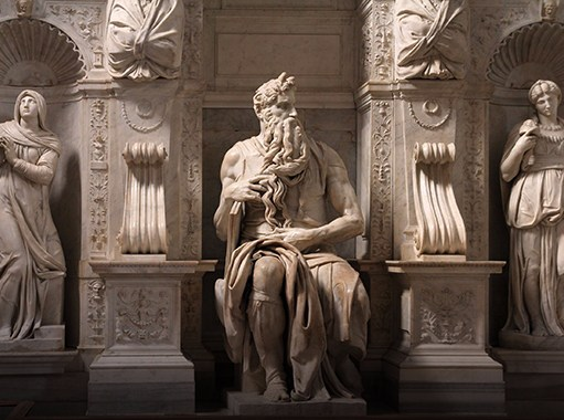 Saint Mary Major Basilica, Michelangelo's Moses (Rome)