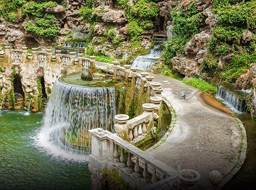 Villa d'Este's fountain (Tivoli, Rome)