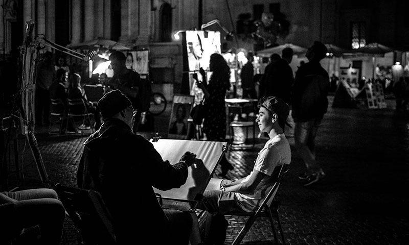 Vita notturna Roma